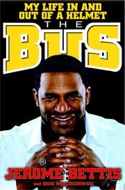 Cover of: The Bus | Jerome Bettis