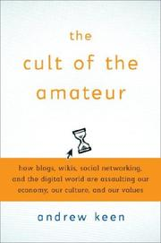 Cover of: The cult of the amateur