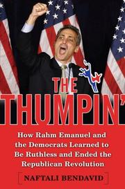 Cover of: The thumpin'