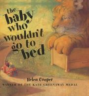 Cover of: Baby Who Wouldn't Go to Bed