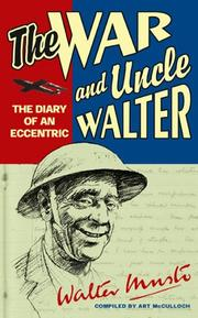 Cover of: The War and Uncle Walter