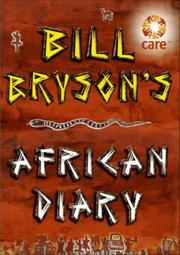 Cover of: Bill Bryson African Diary