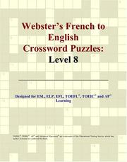 Cover of: Webster's French to English Crossword Puzzles