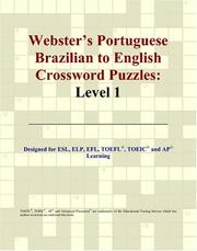 Cover of: Webster's Portuguese Brazilian to English Crossword Puzzles