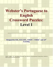 Cover of: Webster's Portuguese to English Crossword Puzzles
