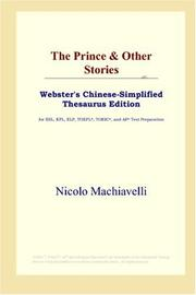 Cover of: The Prince & Other Stories