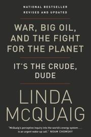 Cover of: War, Big Oil and the Fight for the Planet