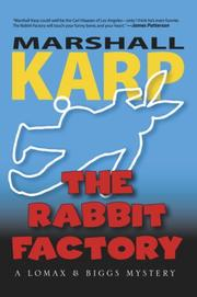 Cover of: The Rabbit Factory | Marshall Karp