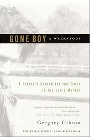 Cover of: Gone Boy: A Walkabout