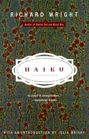 Cover of: Haiku: this other world