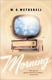 Cover of: Morning