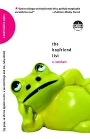 Cover of: The Boyfriend List