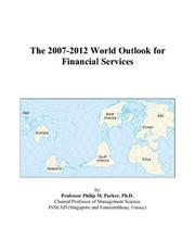 The 2007-2012 World Outlook for Financial Services