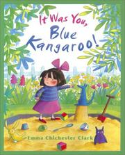 Cover of: It Was You, Blue Kangaroo