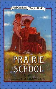 Cover of: Prairie school | Avi