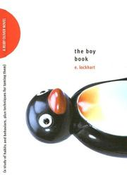 Cover of: The Boy Book