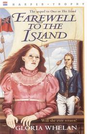 Cover of: Farewell to the Island