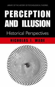 Cover of: Perception and Illusion