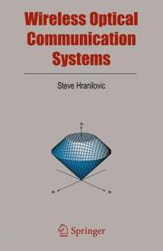 Cover of: Wireless Optical Communication Systems