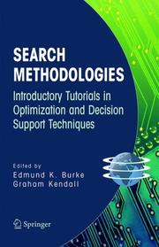Cover of: Search Methodologies |