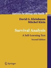 Cover of: Survival analysis by