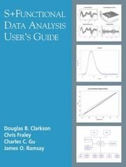 Cover of: S+ functional data analysis |