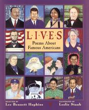 Cover of: Lives: Poems About Famous Americans