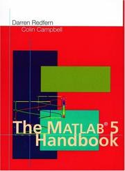 Cover of: The MATLAB 5 handbook