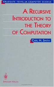 A Recursive Introduction to the Theory of Computation