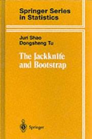 Cover of: The jackknife and bootstrap