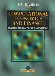 Cover of: Computational Economics and Finance