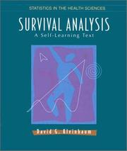 Survival analysis by David G. Kleinbaum
