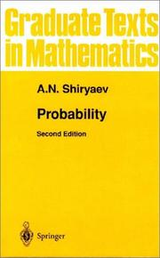 Probability (Graduate Texts in Mathematics) (v. 95)