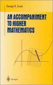 Cover of: An Accompaniment to Higher Mathematics (Undergraduate Texts in Mathematics)