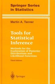 Cover of: Tools for statistical inference