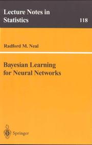 Cover of: Bayesian learning for neural networks