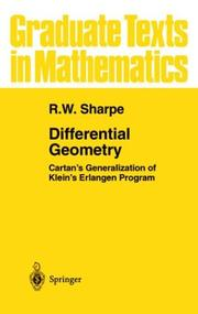 Differential Geometry: Cartan's Generalization of Klein's Erlangen Program