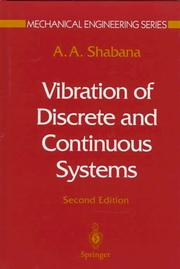 Cover of: Vibration of discrete and continuous systems