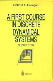 Cover of: A First Course in Discrete Dynamical Systems (Universitext)