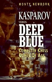 Cover of: Kasparov versus Deep Blue