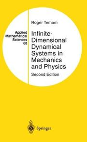 Cover of: Infinite-dimensional dynamical systems in mechanics and physics