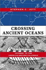 Cover of: Crossing Ancient Oceans | Stephen Jett