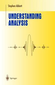 Cover of: Understanding Analysis | Stephen Abbott