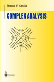 Cover of: Complex Analysis