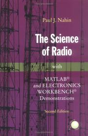 Cover of: science of radio | Paul J. Nahin