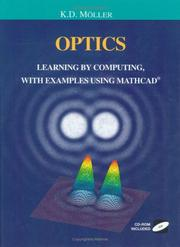 Cover of: Optics computer book | Karl Dieter Möller