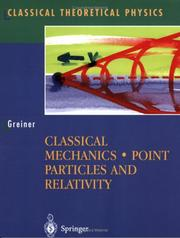 Cover of: Classical mechanics