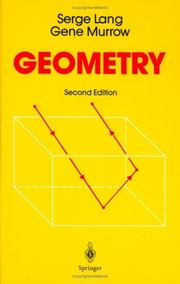 Cover of: Geometry: a high school course