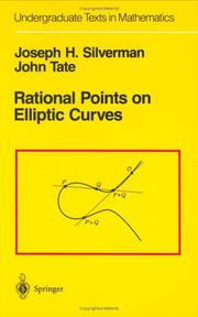 Cover of: Rational points on elliptic curves