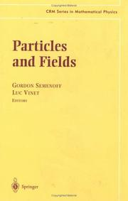 Cover of: Particles and fields |